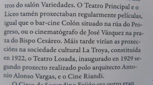 Extracto de un cápitulo del libro Historia de Ourense, a cidade das pontes e os camiños, de Xosé Medina Somoza