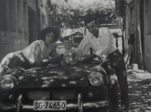 Con Mi tio Antonio Bianchini y mi primo Angelo