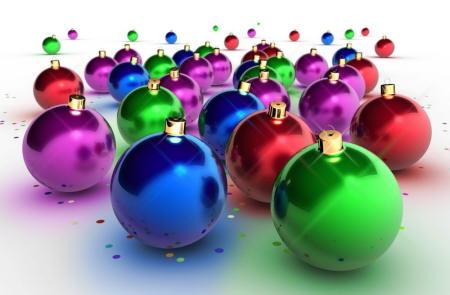 Bolas colores arbol navidad ninos relaciones - Bolas de navidad para ninos ...
