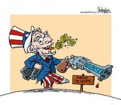 Caricatura de Umpiérrez