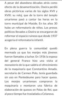 Años 30,-Reformatorio niños en Oseira