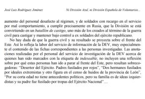 Ni División Azul, ni División Española de voluntarios