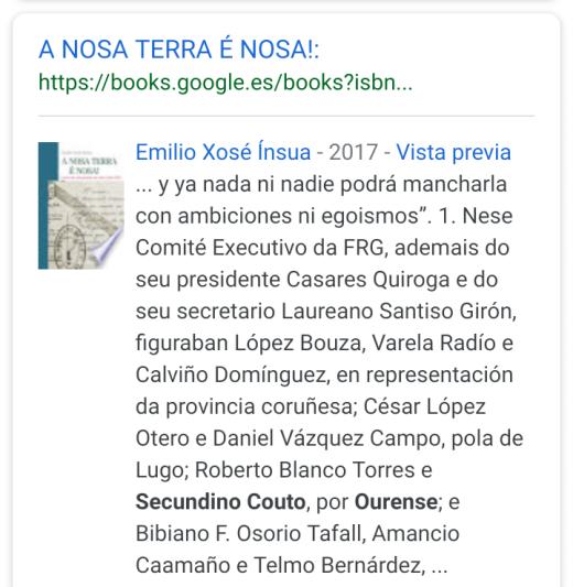 A NOSA TERRA È NOSA!!!