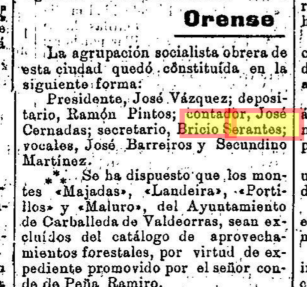 Agrupación socialista obrera